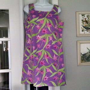 Vintage Lilly Pulitzer Shift Dress 12 Petite